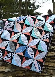 modern quilting Archives - Color Girl Quilts by Sharon McConnell & lagom quilt, curved piecing modern quilt with Art Gallery Fabrics by Color  Girl Quilts Adamdwight.com