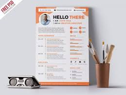 Creative Resume Amazing 28 Best Free Creative Resume Templates Download