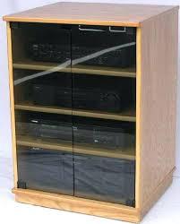 tv cabinets with glass doors tt walnut corner unit black