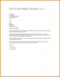 Download Email Thank You Letter Job Interview Format Best Thank