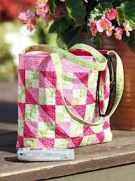 27 Trendy Free Handbag Patterns To Sew | Tip Junkie & Bold Quilted Bag Pattern Adamdwight.com