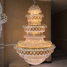 grand crystal chandeliers restaurant hanging lighting egyptian for new residence grand crystal chandelier plan