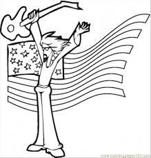 Small Picture Rock Star Coloring Page Free Instruments Coloring Pages