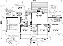 Gracious Country Home Designed For Entertaining  9905MW Country Floor Plans