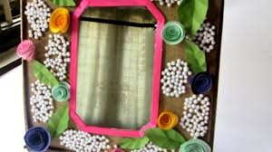 Mirrors In Decorating Make A Decorated Mirror Frame Diy Home Guidecentral Youtube