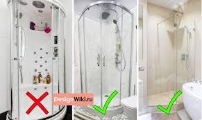 Дизайн ванной комнаты с <b>Душевой</b> кабиной: 14 нюансов и 103 ...