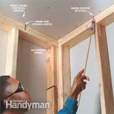 how to hang sheet rock how to install drywall family handyman
