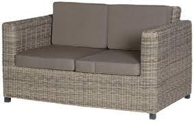 two seater rattan 2 seater garden sofa with garden trading