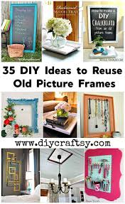diy ideas to reuse old picture frames
