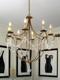 currey and company mansion chandelier crystal light rhine gold large m94