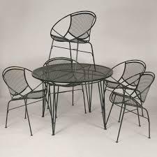 random 2 metal mesh patio furniture