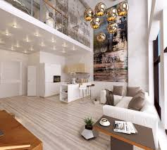 Living Room: Living Room Slanted Wall - Home Decor Ideas