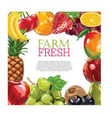 fresh fruit background. Exellent Fresh Vector Farm Fresh Fruit Background Design 02 Intended Fresh Fruit Background