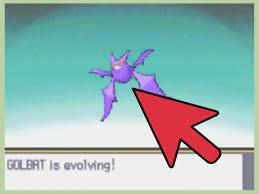 Pokemon Golbat Evolution Chart