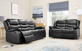2 seater recliner sofa set