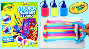 Sticker Design Studio Crayola Crayola Sticker Designer Studio Playset