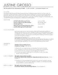 Coaching Resume Samples Englishor Com