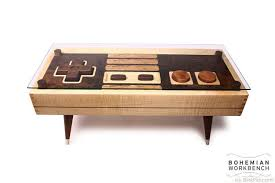 Nintendo Controller Maple Or Walnut Coffee Table  http://bestpickr.