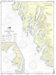 Alaska Nautical Charts Noaa Chart 17330 West Coast Of Baranof Island Cape Ommaney To Byron Bay