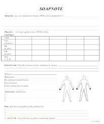 Blank Medical Chart Note Donatebooks Co