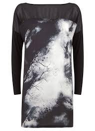 Winona Print T Shirt Dress