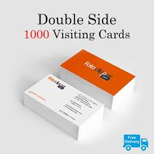 Buisness Card Online Double Side 1000 Visiting Cards