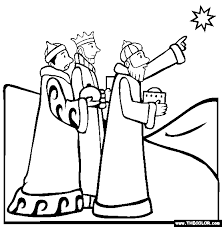 Small Picture Bible Stories Online Coloring Pages Page 1