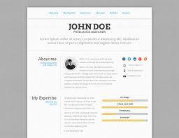 Html Resume 20 Intriguing Online Resume Templates Web Graphic Design Bashooka