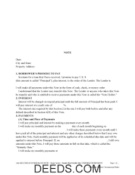 Promissory Note Templates Word Standard Unsecuredsory Note Template Free Word Pdf Templates