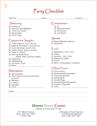 Party Agenda Templates 6 Party Planning Template Bookletemplate Org