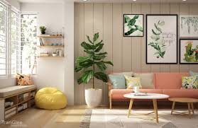 Yellow And Green Living Room Designs Colourful Interiors With Connection Green Coral Blue