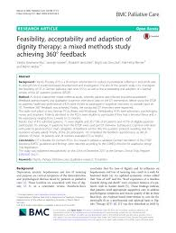 Guidelines For Hospice Admission Flip Chart Pdf Feasibility Acceptability And Adaption Of Dignity
