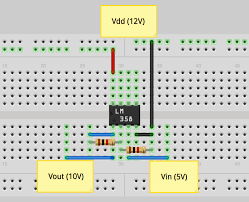 regarding your 3 58v output make sure that you are sufficiently powering your op amp your non inverting circuit is configured to output 10v from a 5v