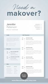 One Page Resume Templates Modern Unbelievable One Page Resume Template Word Free Download