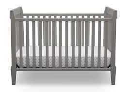 serta midcentury modern classic in convertible crib  grey