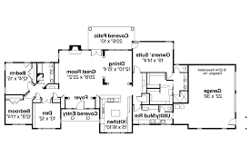 Four Bedroom Ranch House Plans U2013 Bedroom At Real EstateHouse Plans Ranch