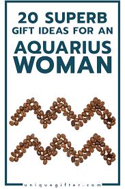 20 gifts for aquarius women