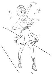 Barbie Coloring Pages For Free Barbie Coloring Pages Printable To