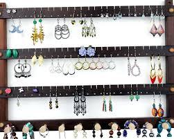 Jewelry Organizer Wall Wall Mount Jewelry Organizer Wood Home Design Ideas