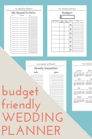 Organization Chart Of Wedding Planner Company Wedding Planner Printable Wedding Binder Inserts Pinterest