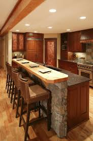 Kitchen Bar Lighting Kitchen Island Bar Table Natural Oak Wood Kitchen Cabinet