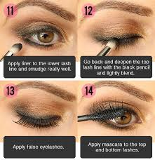 tutorial dark lipstick eyeliner dramatic easy to do eye makeup for both day and night in just six simple steps you
