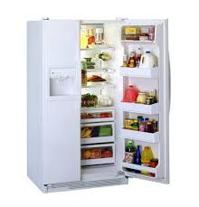 "ge profile performanceâ""¢ 21 6 cu ft side by side refrigerator product image product image"