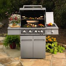 Fine Kitchenaid 5 Burner Gas Grill Dual Energy Outdoor W With Design Decorating