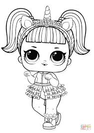 Below you can download or print coloring pages lol omg in a. Lol Surprise Doll Unicorn Super Coloring Unicorn Coloring Pages Kitty Coloring Cat Coloring Page