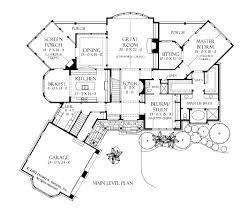 one story craftsman house floor plans designs