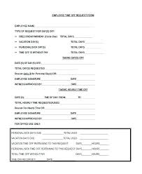 Paid Time Off Form Template Paid Time Off Form Template Employee Request Advance Templates Ready