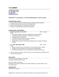 Resume Examples For Retail Awesome Resume Sample For Branch Manager