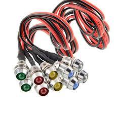 Amazon.com: Amotor <b>10 pcs</b>/<b>Lot LED</b> Indicator Light Lamp Pilot ...