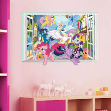 aliexpress com buy decorative children bedroom 3d my little pony